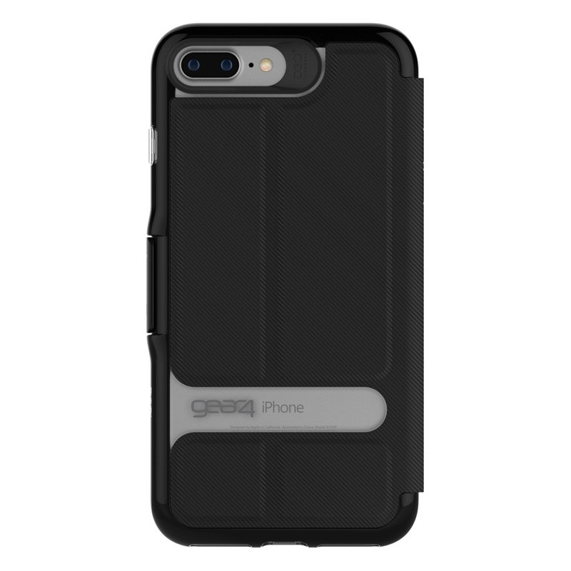 Gear4 Oxford Book Case iPhone 7 Black - 3