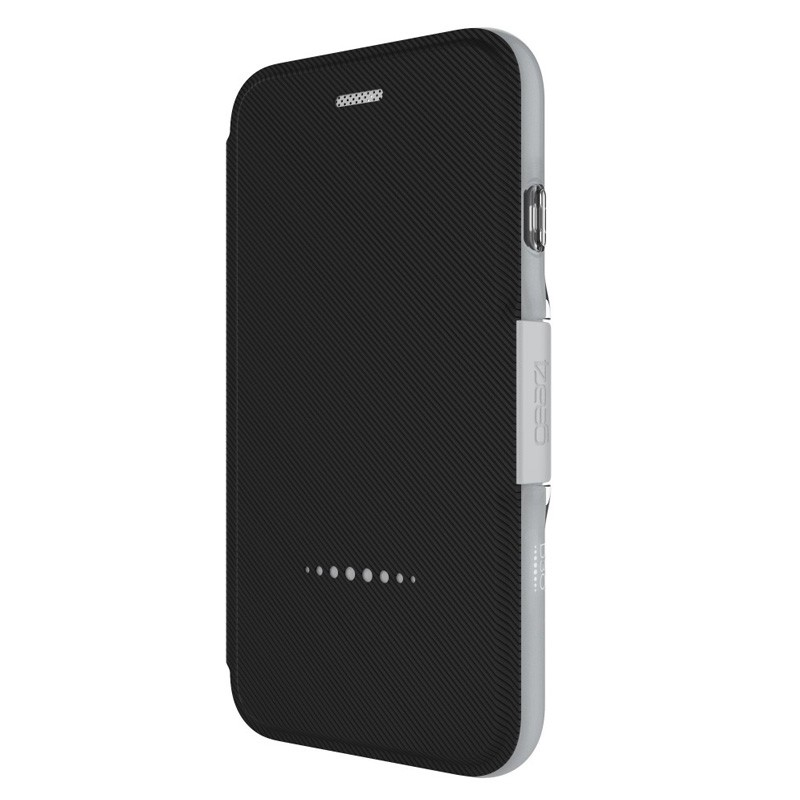 Gear4 Oxford Book Case iPhone 7 Silver/Black - 2