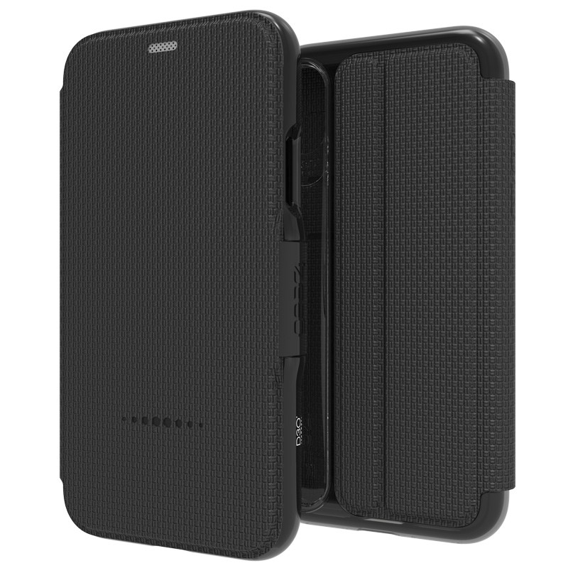 Gear4 Oxford iPhone X/Xs Hoesje Black 01