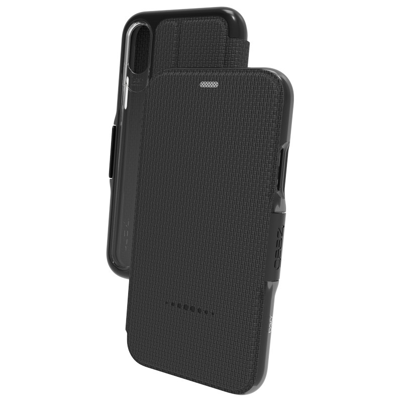 Gear4 Oxford iPhone X/Xs Hoesje Black 03