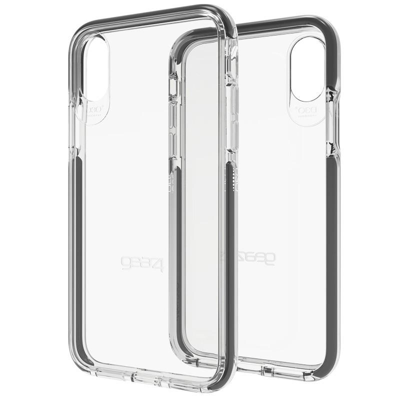 Gear4 Piccadilly Apple iPhone X/Xs Hoesje Black - 1
