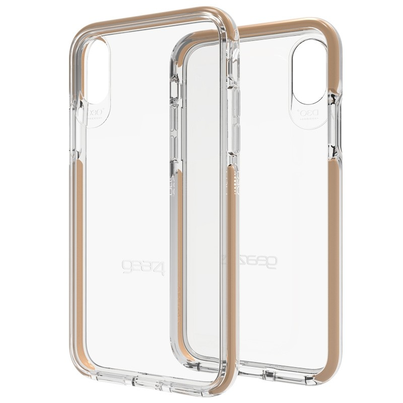 Gear4 Piccadilly Apple iPhone X/Xs Hoesje Gold - 1
