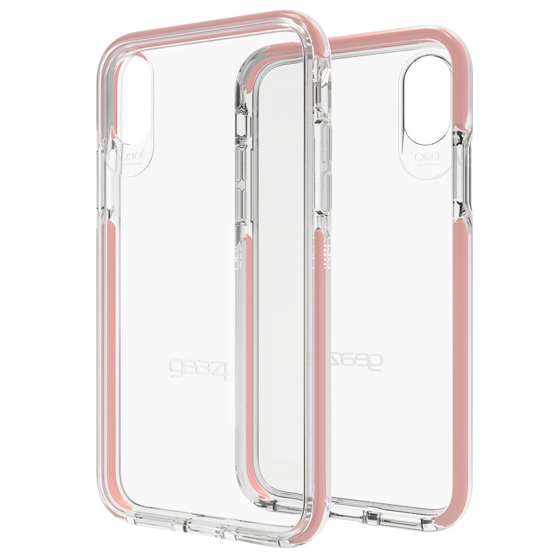 Gear4 Piccadilly Apple iPhone X/Xs Hoesje Rose Gold - 1