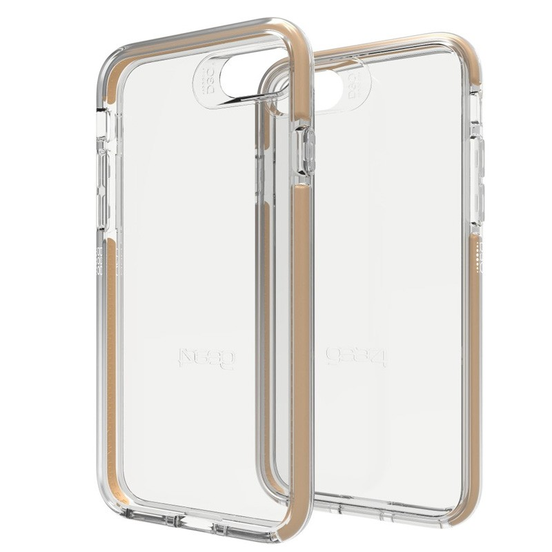 Gear4 Piccadilly iPhone 7 Gold/Clear - 1