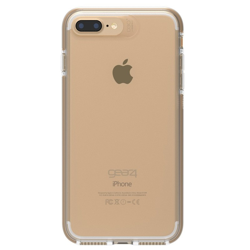 Gear4 Piccadilly iPhone 7 Plus Gold/Clear - 3