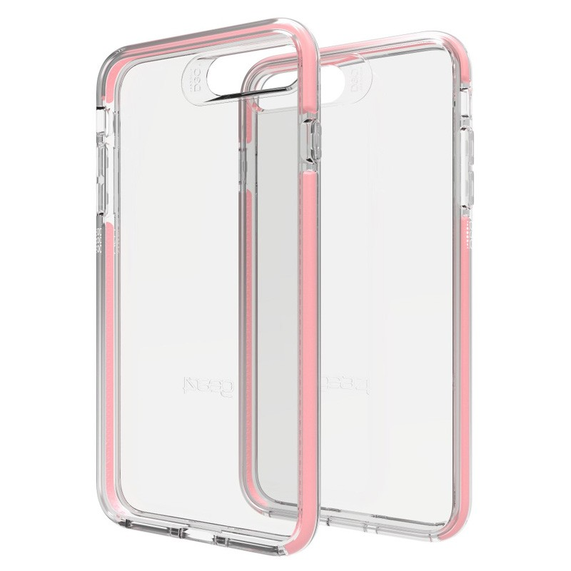 Gear4 Piccadilly iPhone 7 Plus Rose Gold/Clear - 1