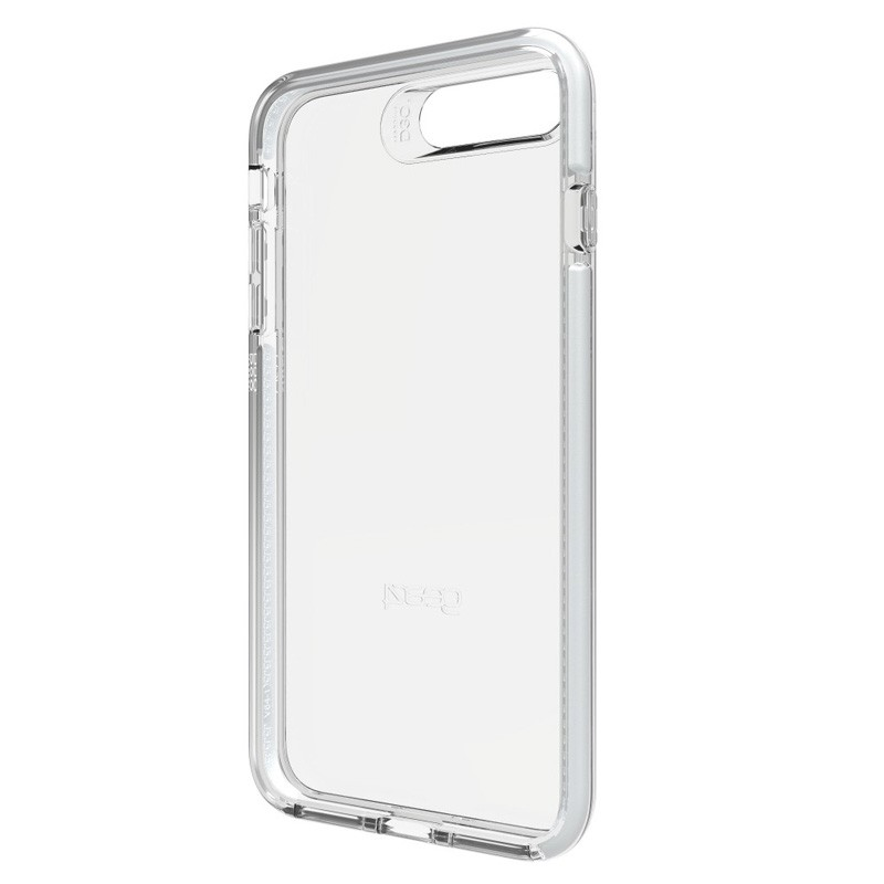 Gear4 Piccadilly iPhone 7 Plus Silver/Clear - 2