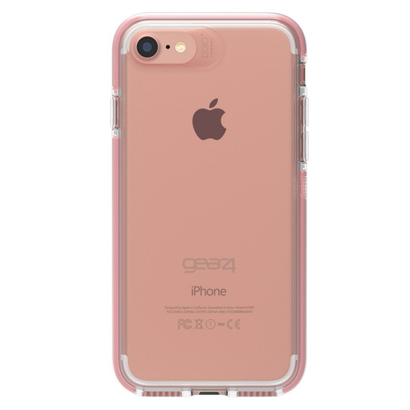 Gear4 Piccadilly iPhone 7 Rose Gold/Clear - 2