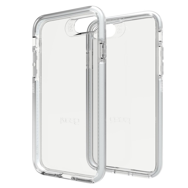 Gear4 Piccadilly iPhone 7 Silver/Clear - 1