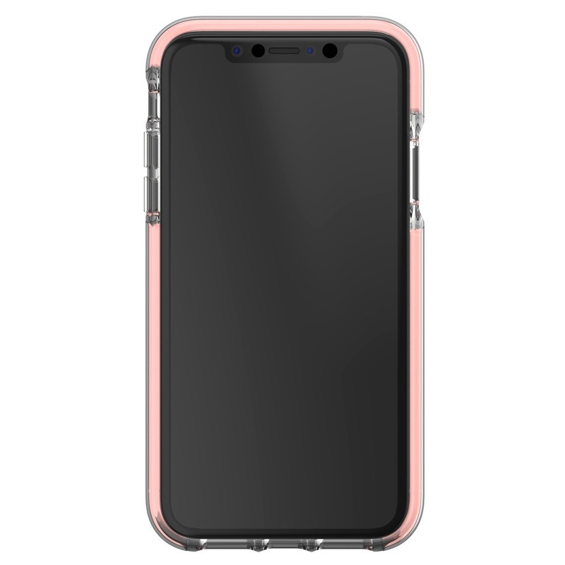 Gear4 Piccadilly iPhone XR Hoesje Rose / Transparant 02
