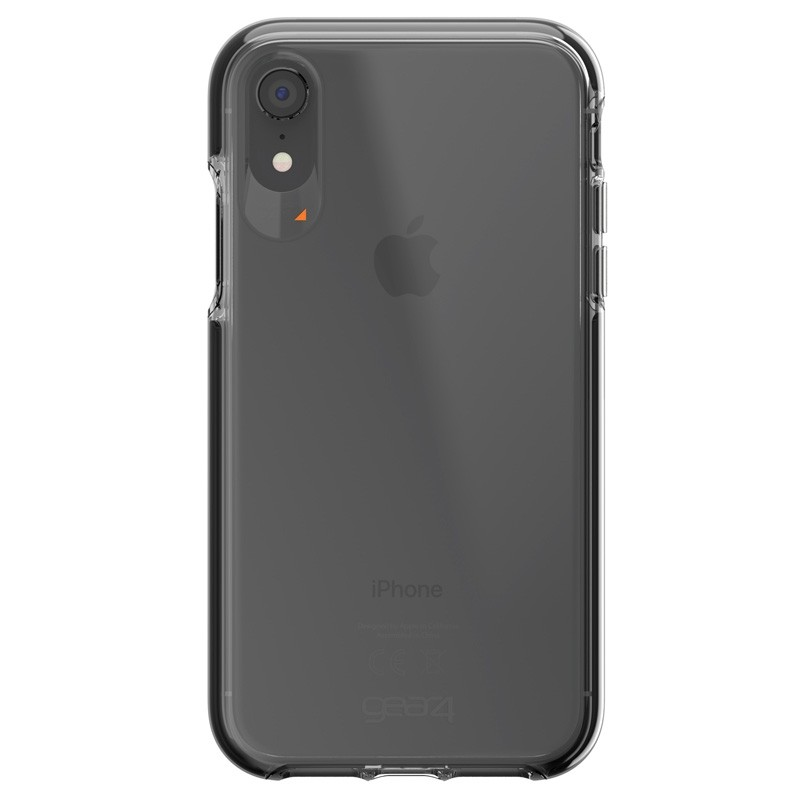 Gear4 Piccadilly iPhone XR Hoesje Zwart / Transparant 01