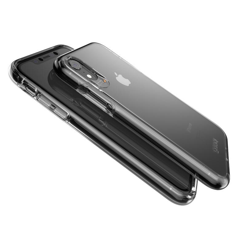 Gear4 Piccadilly iPhone XR Hoesje Zwart / Transparant 03