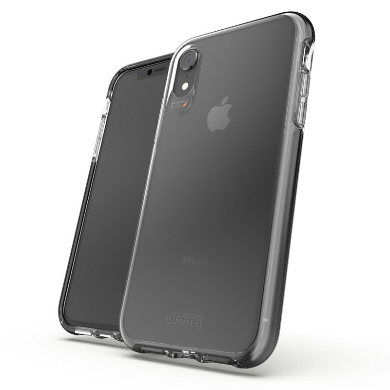 Gear4 Piccadilly iPhone XR Hoesje Zwart / Transparant 05