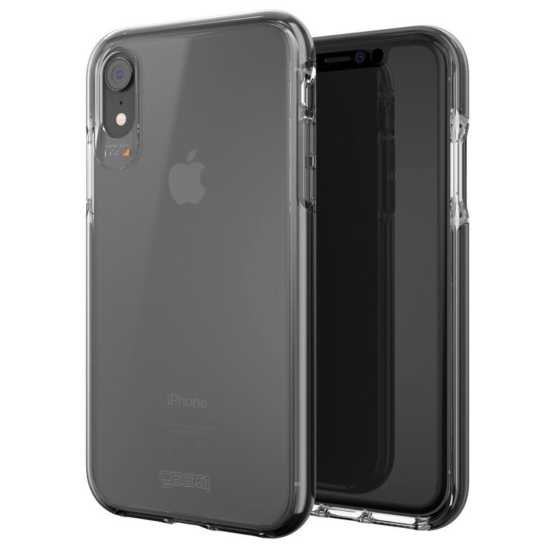 Gear4 Piccadilly iPhone XR Hoesje Zwart / Transparant 06