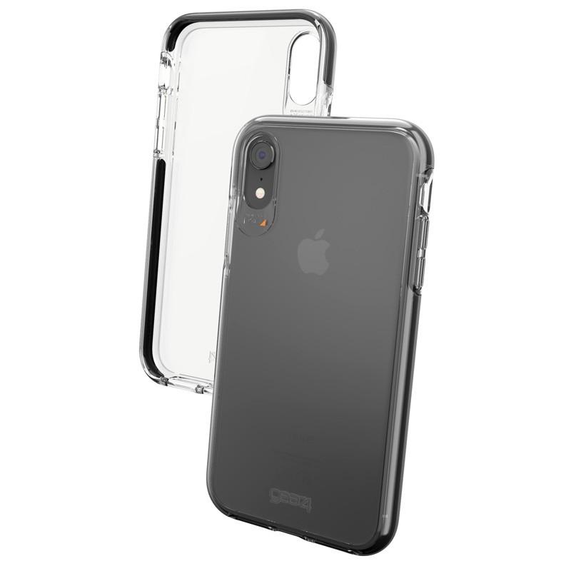 Gear4 Piccadilly iPhone XR Hoesje Zwart / Transparant 04