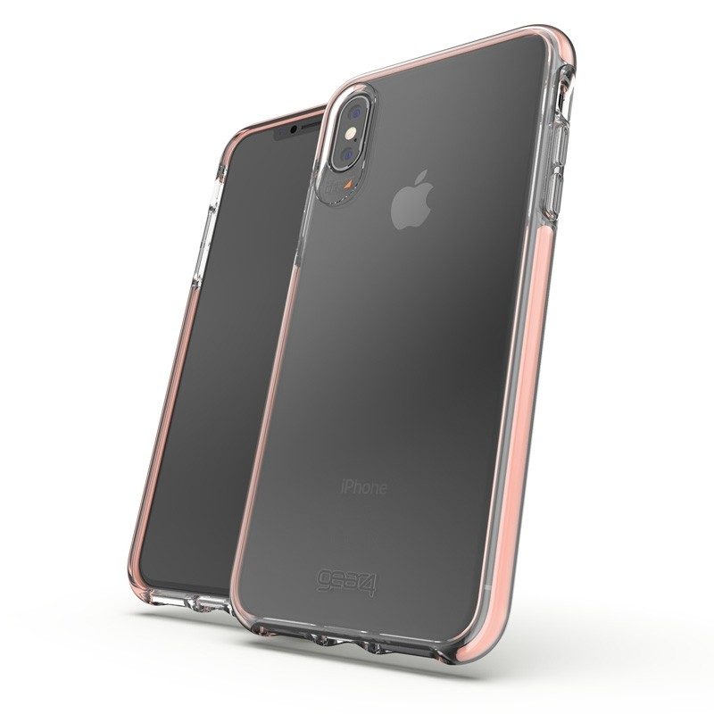 Gear4 Piccadilly voor Apple iPhone XS Max Roze/Transparant 03