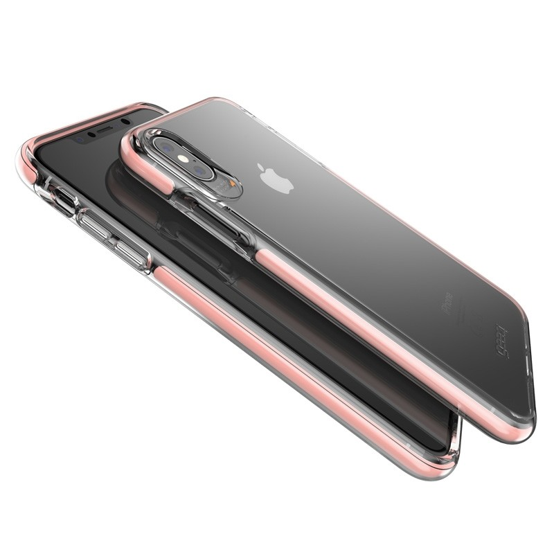 Gear4 Piccadilly voor Apple iPhone XS Max Roze/Transparant 04