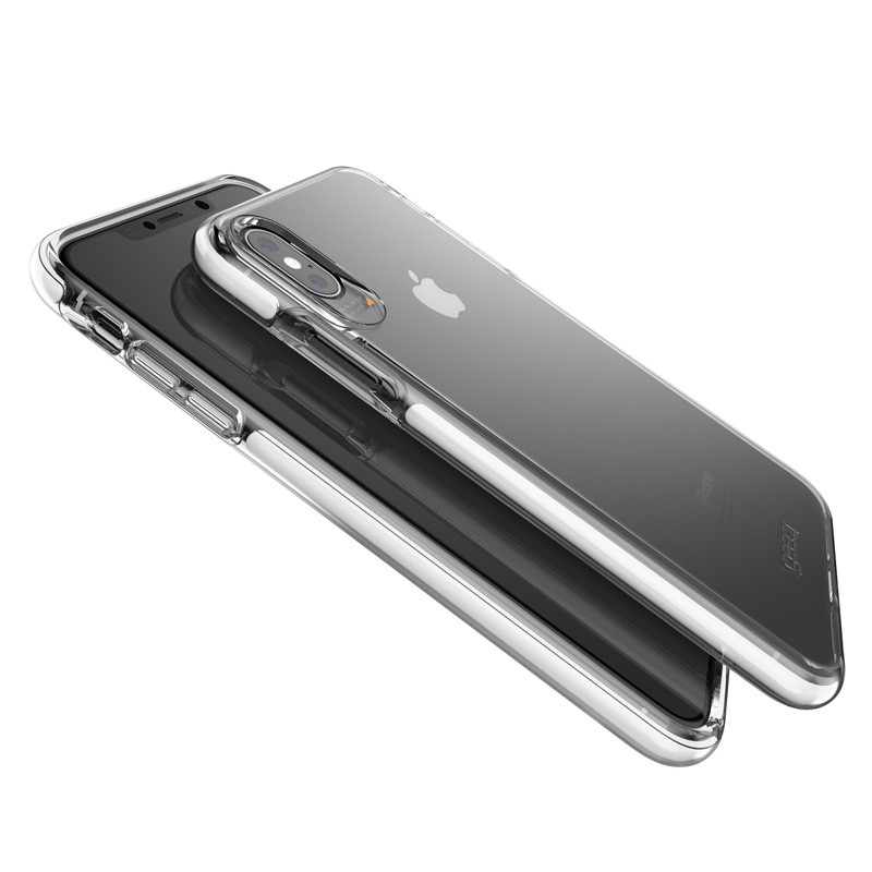 Gear4 Piccadilly voor Apple iPhone XS Max wit/Transparant 04