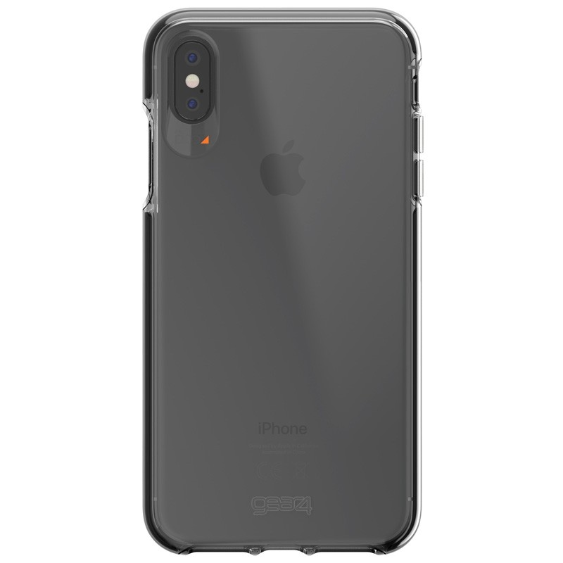 Gear4 Piccadilly iPhone XS Max zwart/tranparant 01