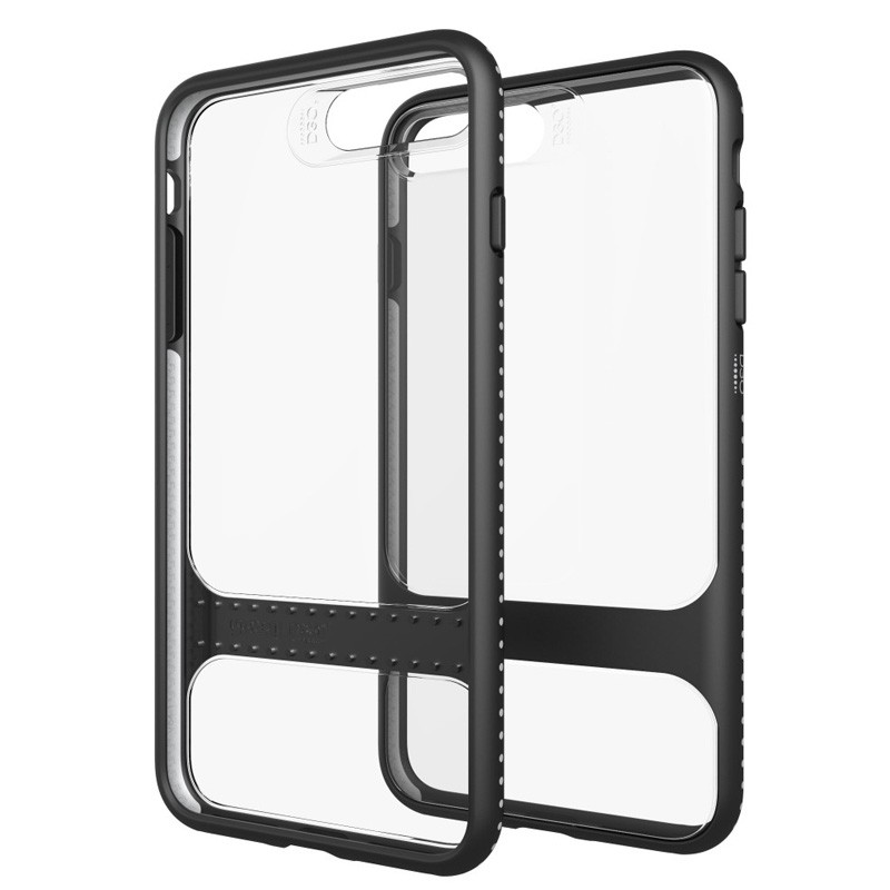Gear4 Soho D3O Case iPhone 7 Plus Black/Clear - 1