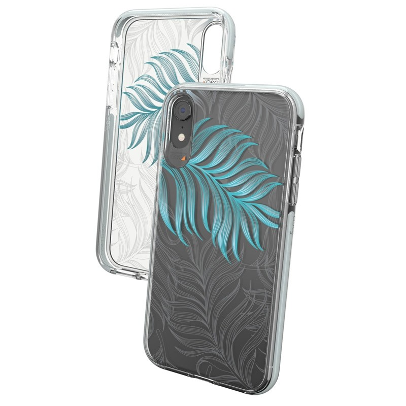 Gear4 Victoria iPhone XR Hoesje Jungle Transparant 02