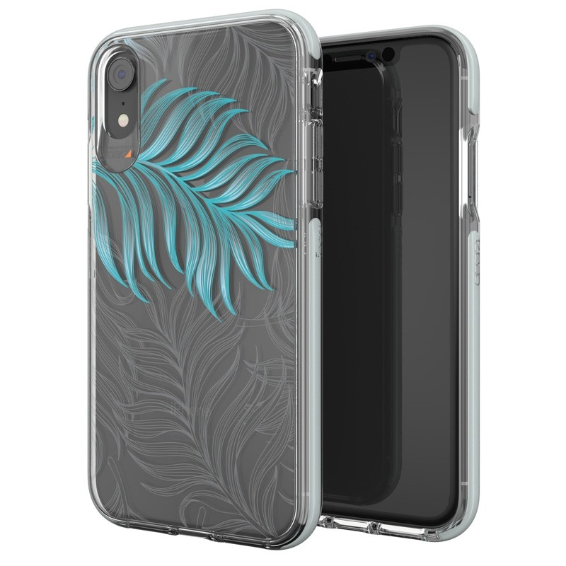 Gear4 Victoria iPhone XR Hoesje Jungle Transparant 05
