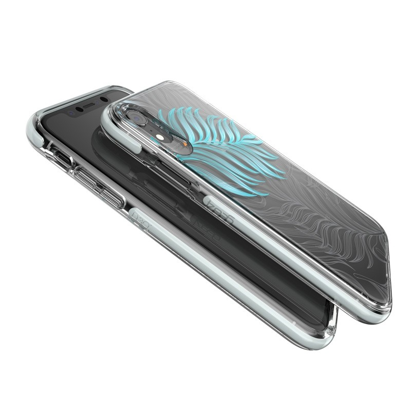 Gear4 Victoria iPhone XR Hoesje Jungle Transparant 04