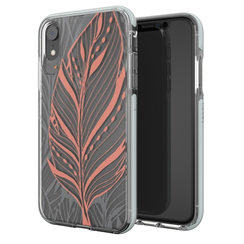 Gear4 Victoria iPhone XR Hoesje Tribal Transparant 05