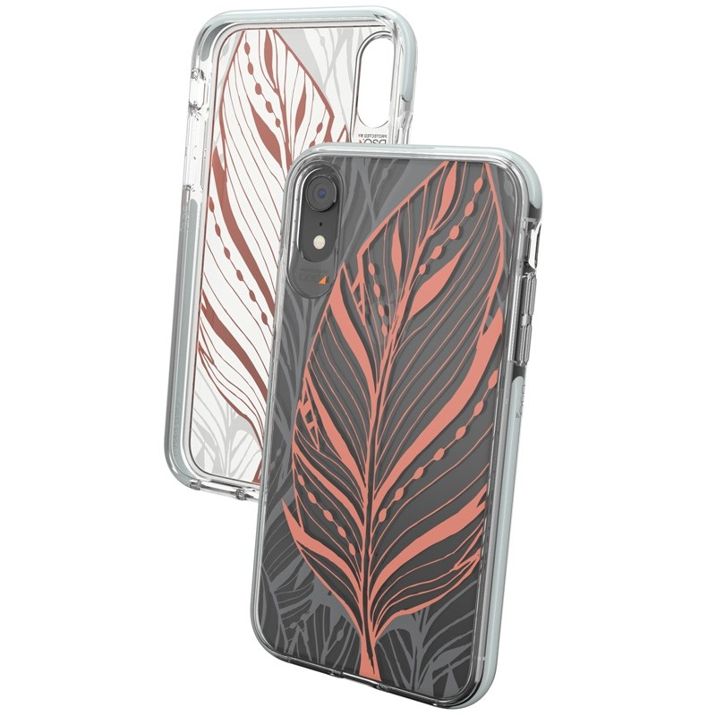 Gear4 Victoria iPhone XR Hoesje Tribal Transparant 02