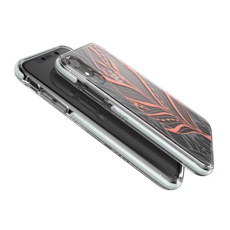 Gear4 Victoria iPhone XR Hoesje Tribal Transparant 04