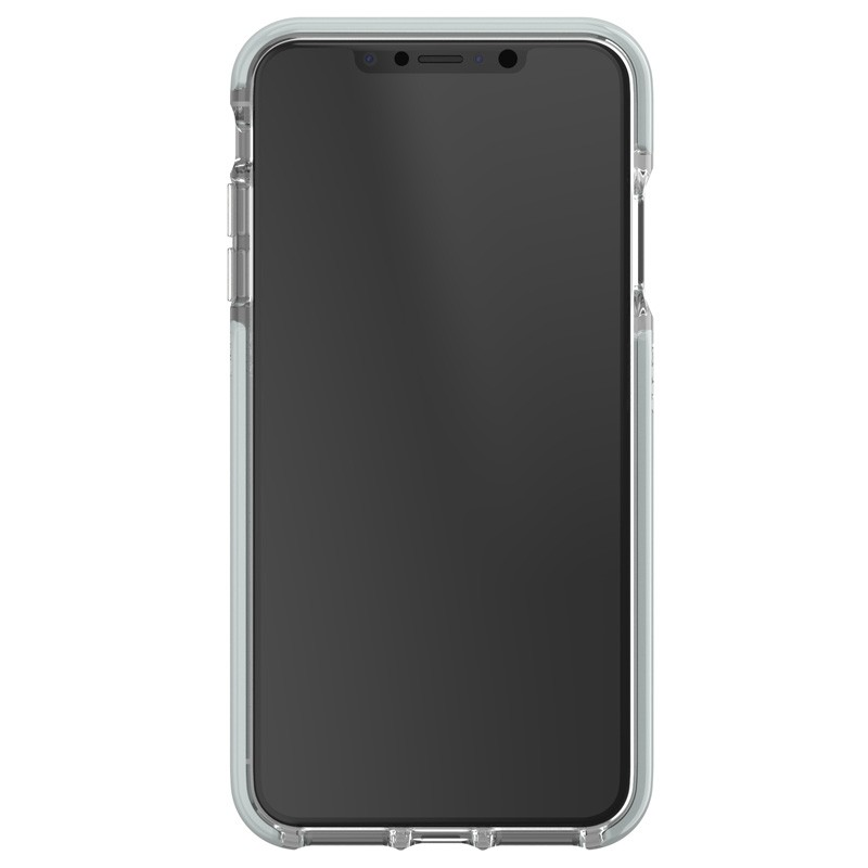 Gear4 Victoria iPhone XS Max hoesje Fabric/Transparant 02