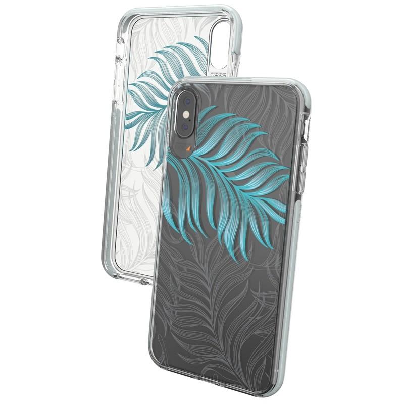 Gear4 Victoria iPhone XS Max hoesje Jungle/Transparant 04