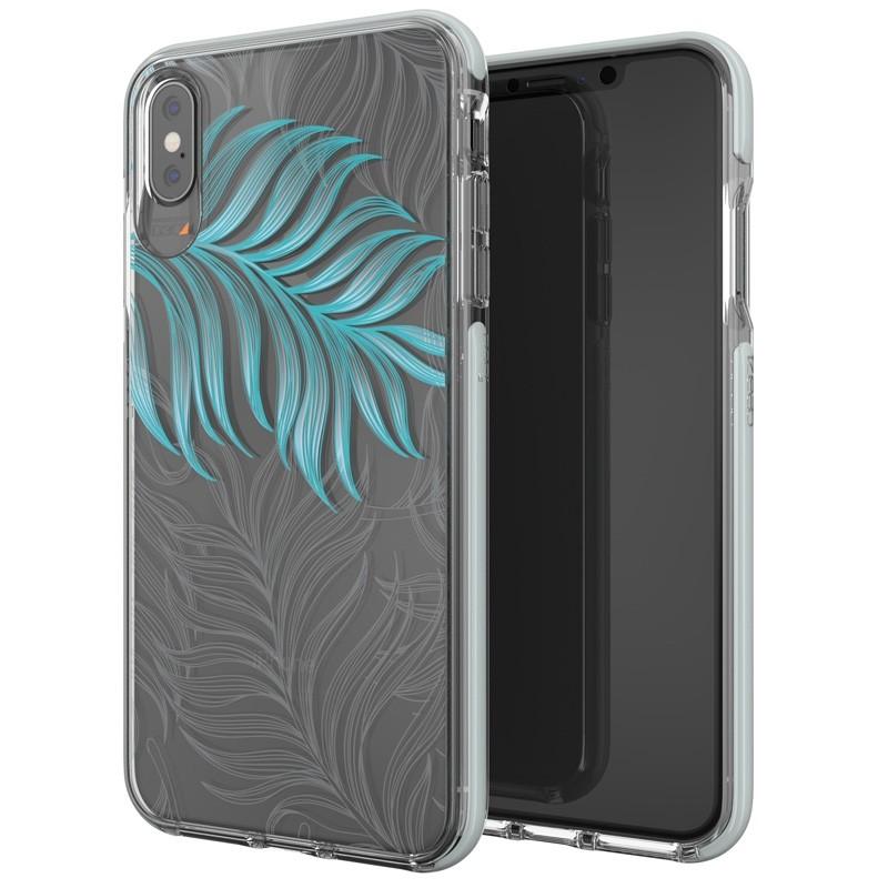 Gear4 Victoria iPhone XS Max hoesje Jungle/Transparant 05
