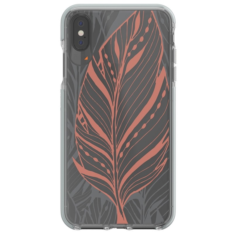 Gear4 Victoria iPhone XS Max hoesje Tribal/Transparant 01