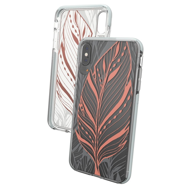Gear4 Victoria iPhone XS Max hoesje Tribal/Transparant 04