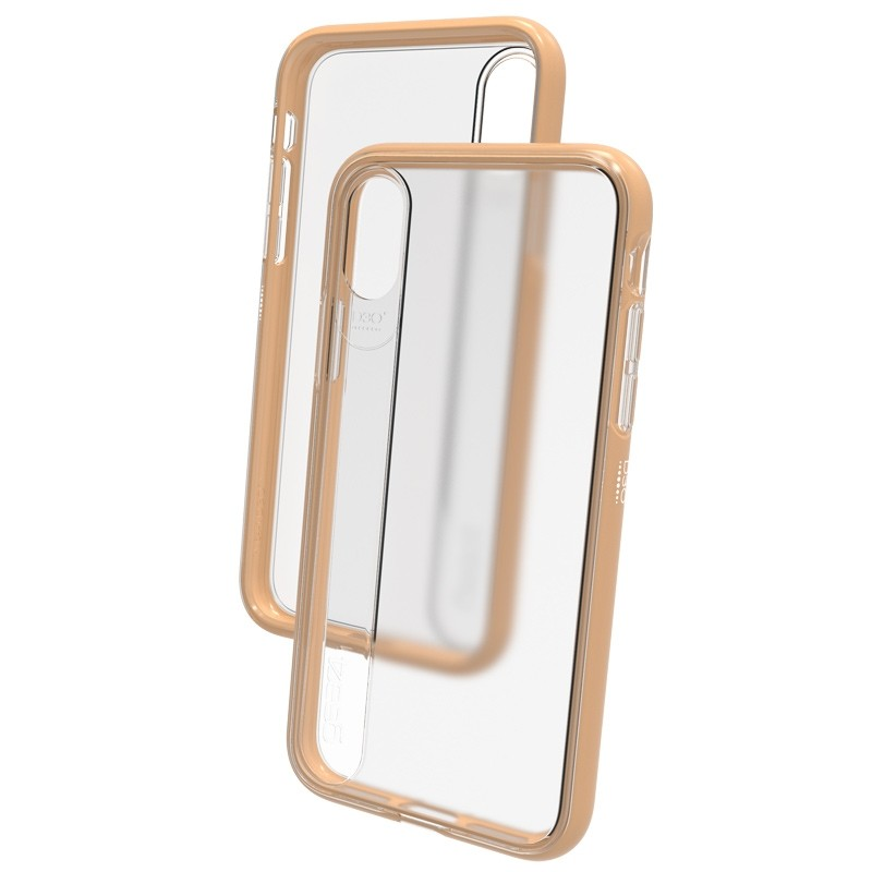 Gear4 Windsor iPhone X Hoesje Gold - 2