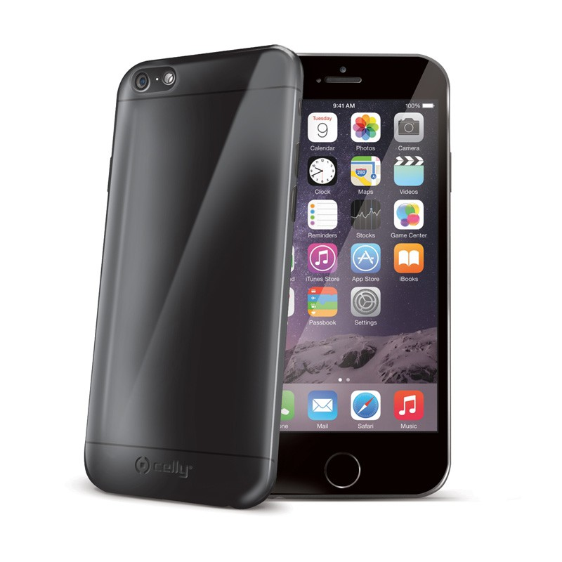 Celly GelSkin iPhone 6 Black - 1