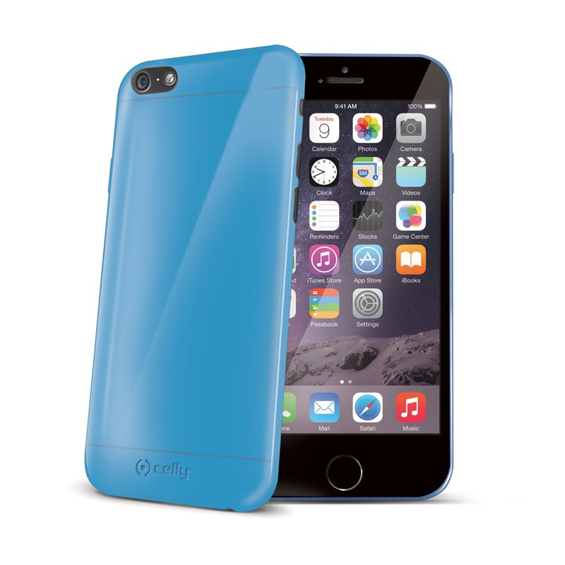 Celly GelSkin iPhone 6 Blue - 1