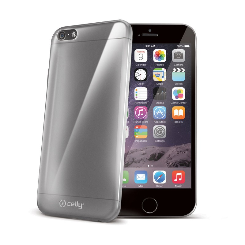Celly GelSkin iPhone 6 Clear - 1