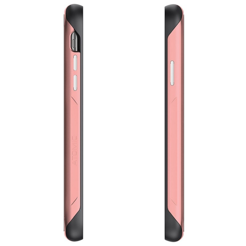 Ghostek Atomic Slim 2 iPhone XR Roze/Transparant - 4