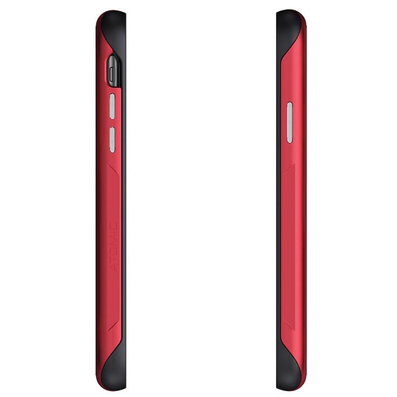 Ghostek Atomic Slim voor iPhone XS Max Rood - 4