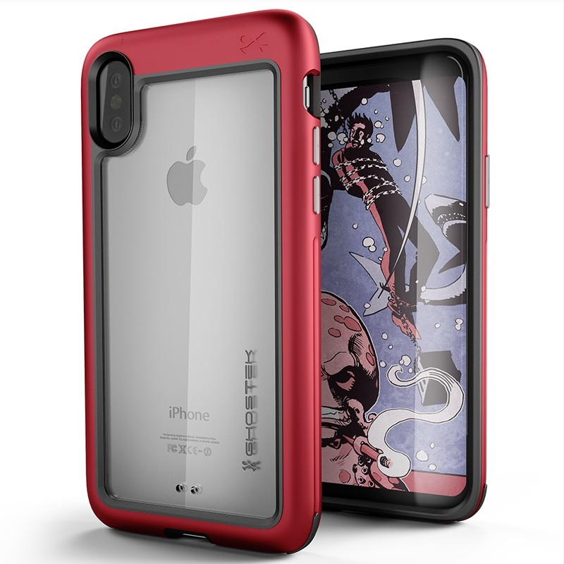 Ghostek Atomic Slim Case iPhone X/Xs red 01