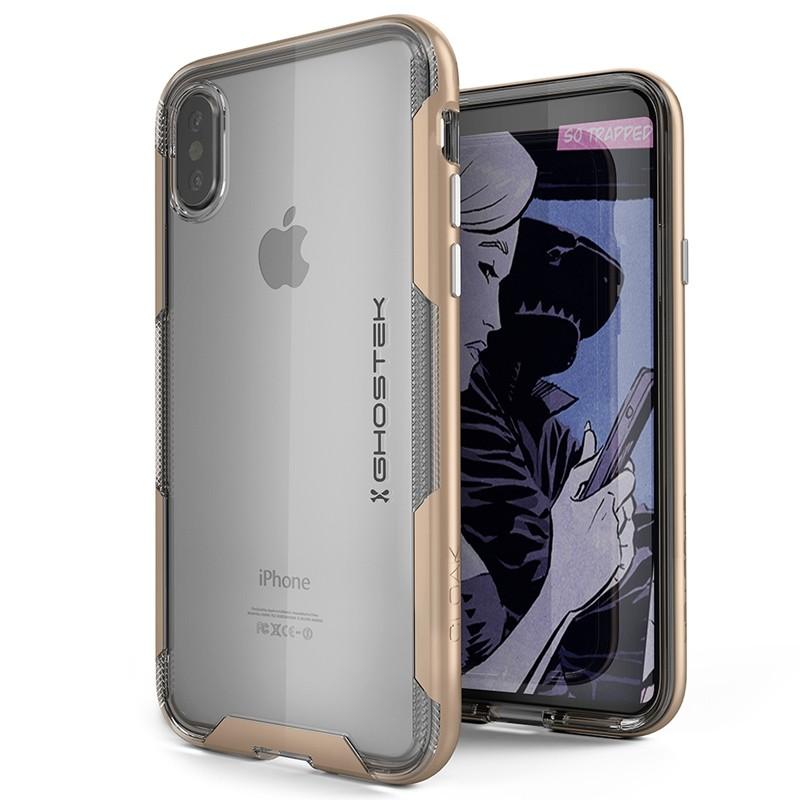 Ghostek Cloak 3 Case iPhone X/Xs gold 01