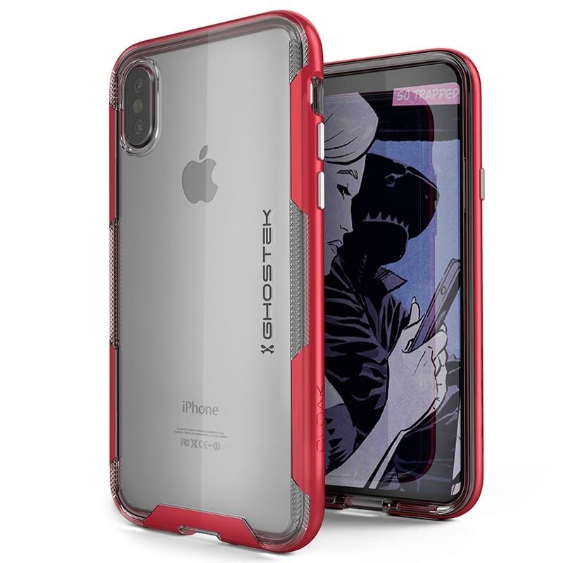 Ghostek Cloak 3 Case iPhone X/Xs red 01
