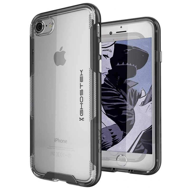 Ghostek - Cloak 3 iPhone 8/7 Hoesje black/clear 01