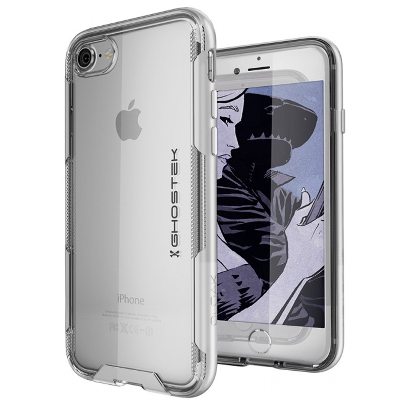Ghostek - Cloak 3 iPhone 8/7 Hoesje silver/clear 01