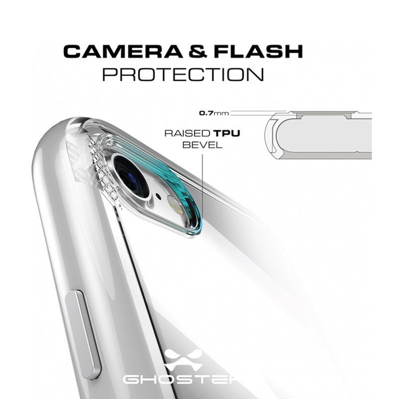 Ghostek - Cloak 3 iPhone 8/7 Hoesje silver/clear 05