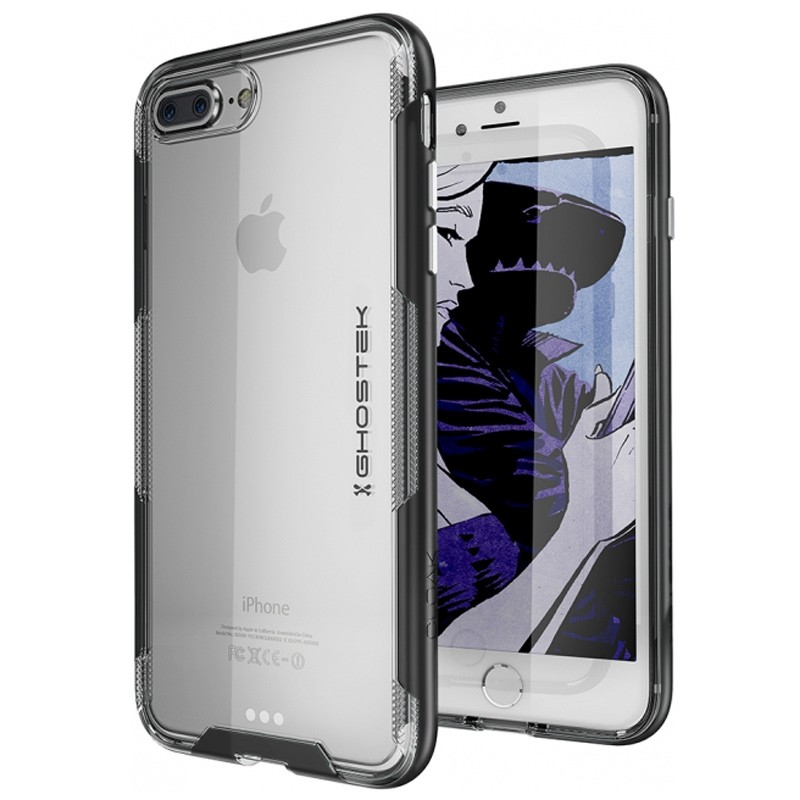 Ghostek Cloak 3 iPhone 8 Plus/7 Plus zwart 01