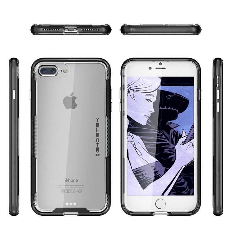 Ghostek Cloak 3 iPhone 8 Plus/7 Plus zwart 02