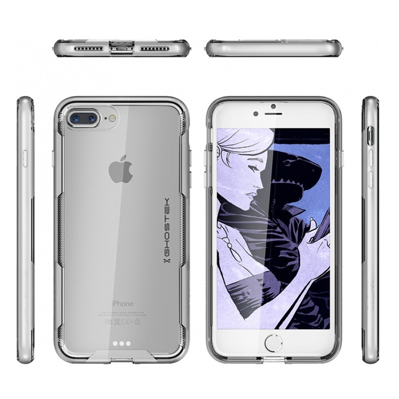 Ghostek Cloak 3 iPhone 8 Plus/7 Plus zilver 02